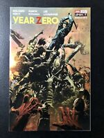 🔥🚨 YEAR ZERO #1 MIKE DEODATO WRAPAROUND VARIANT AWA Upshot Zombies NM