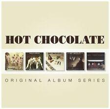 HOT Chocolate-ORIGINAL ALBUM SERIES 5 CD NUOVO