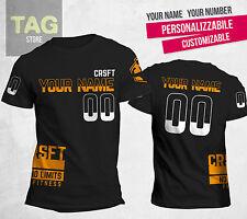 T-shirt customizable CROSSFIT GAMES 2016 replica numero nome personalizzabili