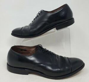 Allen Edmonds Park Avenue Black Cap Toe Oxford 5615 Mens Dress Shoes Size 11 D