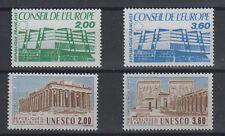 Conseil de l'Europe, 4 timbres n°96 à 99, année 1987**