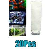 20-Pack 200 Micron Aquarium Marine Sump Fish Tank Felt Filter Sock Bag Pouch 4""