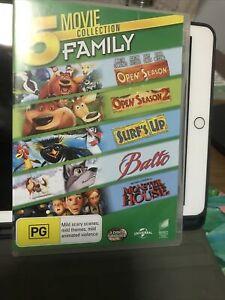 Open Season 1 and 2 Surf's Up Balto Monster House DVD -  Region 4