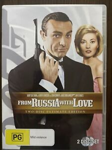 James Bond 007 In From Russia With Love. 2 Disc Ultimate Edition. Free Postage.