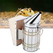 11 Bee Hive Smoker With Heat Shield Beekeeper Beekeeping Equipment Honey Keeper