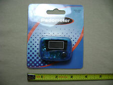 Mini Pedometer in Clear Blue (NEW) Fitness Technology