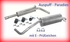 Auspuffanlage Auspuff Abgasanlage Skoda Fabia 1.2 Combi 6Y5 ab Bj. 07/2001 +Kit