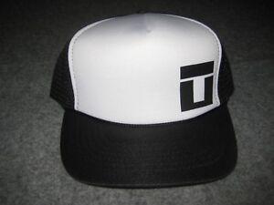 TRAPT Vintage 2003-era Tour Blk/White Logo Trucker Hat