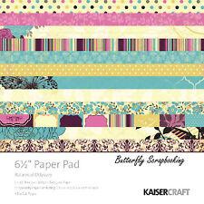 Botanical Odyssey Collection 6.5 inch Paper Pad Scrapbooking Kit Kaisercraft NEW