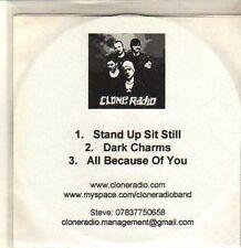 (CP717) Clone Radio, Stand Up Sit Still - DJ CD