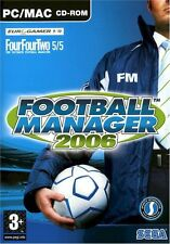 FOOTBALL MANAGER 2006 (PC: MAC e PC, 2005)