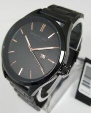 Kenneth Cole New York KC50214001 Men's 44mm Black & Rose Analog Watch - New!