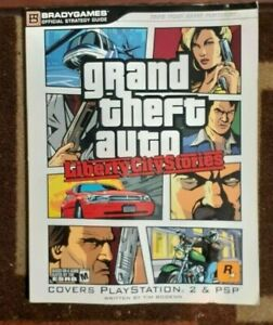 Grand Theft Auto Liberty City Stories Bradygames Official Strategy Game Guide
