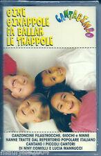 Gine Ginappole fa Ballar le Trappole (1999) Musicassetta NUOVA Nana' cicin pipin