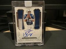 Panini Flawless  On Card  Autograph Jersey COLTS Peyton Manning 02/25  2015