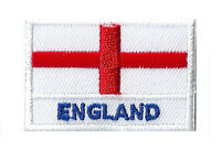 Ecusson badge patche thermocollant Angleterre petit patch brodé 45x30 mm