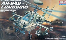 ACADEMY 1:48  KIT ELICOTTERO ATTACK HELICOPTER AH 64D LONGBOW   ART 12268