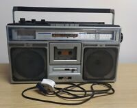 JVC RC-646LB Vintage Stereo Radio Cassette Recorder Boombox Retro Tested