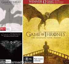 Game Of Thrones SEASON 3, 4 & 5 : NEW DVD
