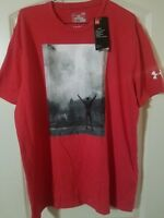 "Under Armour X Rocky ""Win Rocky Win"" shirt (1299846 600) NWT! RARE! SZ: L"