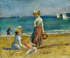 Figures on the Beach 1890 by Auguste Renoir Old Masters 8x10 Art Print