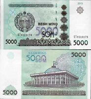 Uzbekistan 2013 - 5000 sum - Pick 83 UNC