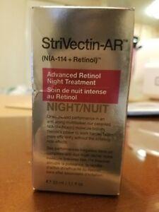 StriVectin-AR Advanced Retinol Night Treatment. 33 ml / 1.1 fl. oz. New.