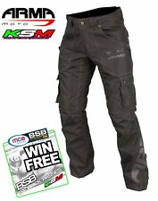 ARMR MOTO INDO MOTORCYCLE WATER PROOF TROUSERS L WITH SHORT LEG