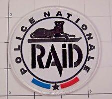 France Police RAiD Recherche Assistance Intervention Dissuasion Ecusson Patch