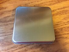 Blank Metal Tin Box Survival Kit Craft Container Cloth Hinged