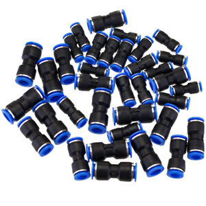 Straight Push Connectors Pneumatic Connect-Fittings Air Line Quick-Hose Repair