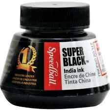 2-Ounce Super Black India Ink For Waterproof Drawing Ink By Speedball .