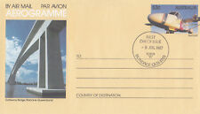 (13929) Australia Postal Stationery FDC Gateway Bridge Brisbane 1987