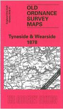 Old Ordnance Survey Mappa Tyneside & wearside 1878