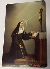 Saint Rita of Cascia Prayer Card, New