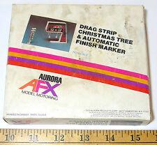 1973 Aurora AFX Slot Car DRAG STRIP CHRISTMAS TREE +AUTOMATIC FINISH MARKER 2555