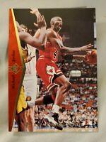 "1994-95 Upper Deck SP MICHAEL JORDAN ""He's Back"" Red HOF Last Dance One Touch MJ"