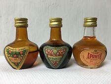 Lotto Mignon Aurum Liquore Cerasella Apricot Brandy 25cc Vintage