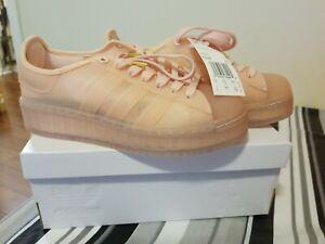 Adidas Originals Superstar Jelly FX2988 Pink Cloud White Platform Shoes Size 6.5