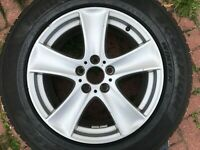 "GENUINE OEM BMW X5 E70 18"" STYLE 209 SPARE ALLOY WHEEL & PIRELLI TYRE 6770200"