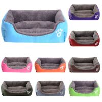 Washable  Pet Dog Puppy Cat Soft Fleece Warm Nest Bed House Cotton Mat