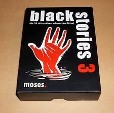 BLACK Stories-Mystery Edition - 50 finale Nera Mistero-come nuovo