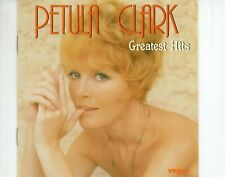 CD PETULA CLARK	greatest hits	1984 WEST GERMANY EX	   (A4482)