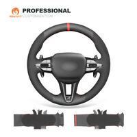 MEWANT Hand-Stitch Camouflage Pattern Artificial Leather Car Steering Wheel Cover for Mazda MX-5 Miata 2006-2015 RX-8 2009-2011 CX-7 2007-2009