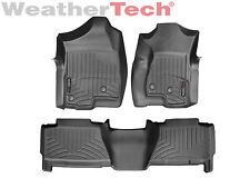WeatherTech Car/Truck Floor Mat FloorLiner 440031-440612 - 1st & 2nd Row - Black