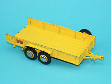 BRITAINS AUTOWAY #9883 LOW-LOADER TRAILER 1980s ENGLAND