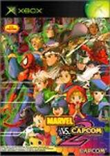 MARVEL VS. CAPCOM2 New Age of Heroes Xbox X box Japan