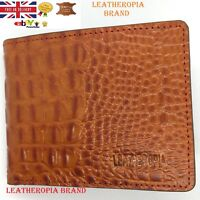 Branded Crocodile pattern Genuine Leather Wallet For MEN