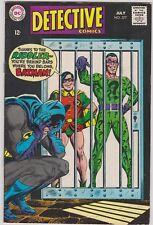 DETECTIVE COMICS # 377 BATMAN/ROBIN, ELONGATED MAN GARNER FOX JULY 1968