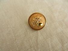bouton militaire français Gendarmerie doré 17 mm